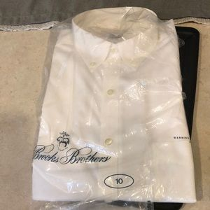 New in bag Brooks Bro's. Ladies shirt